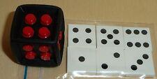 Nr.6649 Lego 64776 3068bpb343... schwarzer Lego-Würfel  6 Fliesen mit Punkten