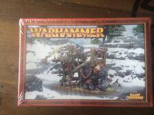 Ogre Kingdoms Gnoblar Scraplauncher Sealed  Games Workshop Warhammer Metal OOP