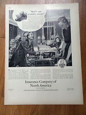 1938 Insurance Co. of North America Ad Homeowners