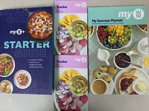 Weight Watchers MY WW+ Starter Guide, Success Planner & 2 Food Trackers 2021