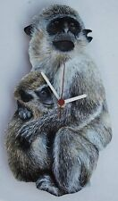 Monkey and Baby Clock - MB13