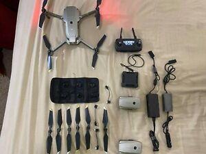 DJI Mavic PRO Platinum Drone Quadcopter Fly More Combo Very Good Condition
