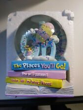 "Dr Seuss Musical Snow Waterglobe ""Oh the Places You'll Go"""