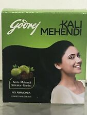 8 x Godrej Kali  3grams BLACK Mehendi Henna Hair Color . 24 Gms