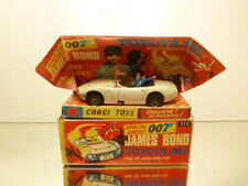 CORGI TOYS 336 TOYOTA 2000 GT JAMES BOND 007 WHITE 1:43 - BAD/FAIR IN REPRO BOX