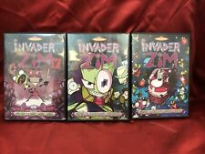 Invader Zim - Vol. 1 2 3 (DVD) LOT OF 3 VGC L⭕️⭕️K 🔥🔥🔥🔥🔥🔥