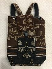 Handmade🔥 Peruvian Native Nazca Lines Eco-Friendly Backpack Boho Hippie Peru