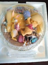 Bradford Exchange Disney Rumbly In My Tumbly Winnie The Pooh Plate no. B 2875