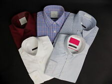 Marks and Spencer Men's Regular Single Cuff Cotton Blend Formal Shirts