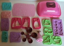 EASY BAKE OVEN Replacement Microwavable Fondant Pieces and Pretzel Dipper Mold