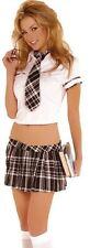PREP SCHOOL GIRL SKIRT SET W/TIE - MED/LARGE