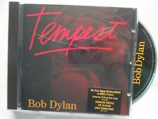 Bob Dylan ‎– Tempest Label: Columbia ‎– 88725457602  Promo Stickered CD Album
