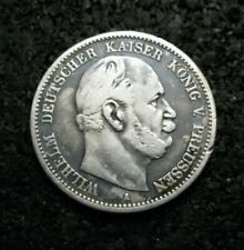 2 Mark - Preussen - 1876 - A - Wilhelm I. - Echte alte Münze - (ut16n560)