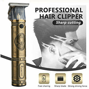 Electric Mens Hair Clippers Rechargeable Cordless Beard Shaving Cutting Trimmer