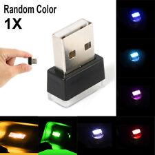 Mini USB LED Car Auto Interior Light Neon Atmosphere Ambient Lamps Random Color