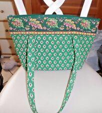 vera bradley Paddy bag in retired Greenfeld pattern