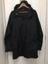 Genuine Burberry Black Raincoat  Mac Size L