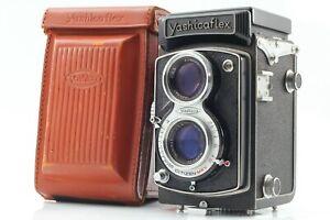 🔹N MINT in Case🔹 Yashicaflex AII TLR Medium Format 80mm f3.5 Lens from Japan