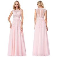 Summer Long Chiffon Formal Wedding Evening Ball Gown Party Prom Bridesmaid Dress