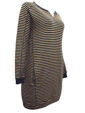 New Next BLACK Jumper Longline Pure Cotton Tunic Top Dress UK 16 18 20 22