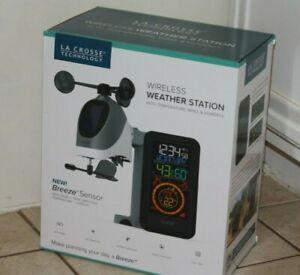 S81120 La Crosse Technology Wireless Weather Station with Breeze Sensor - NIB