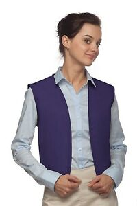 Daystar Apron 740NP No Pocket Uniform Dr Who Costume Aladdin Vest ~ Made in USA