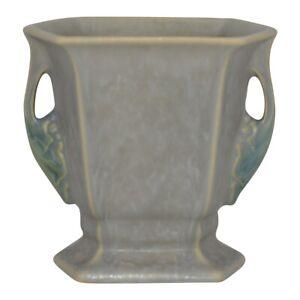 Roseville Pottery Tuscany 1928 Gray Art Deco Vase 70-5