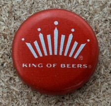 Budweiser Crown Bottle Caps - Crafts / Tabletop - NO DENTS - Lot of 121 (1sqft)
