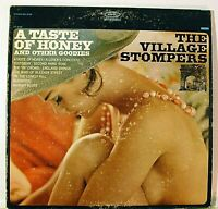 A TASTE OF HONEY VILLAGE STOMPERS VINYL LP RECORD Cheesecake cover 1966 STEREO