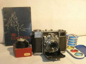 Zeiss Contessa 35mm Rangefinder Camera 533/24 With 45mm F2.8 Opton Tessar Lens