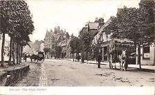 Barnet. The High Street. Horse & Cart.