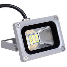 10Watt 12V LED Fluter Flutlicht Strahler Scheinwerfer Kaltweiß Außen Lampen