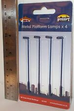 Bachmann 00 Scenecraft 44-543 - Metal Platform Lamps x 4 - New (00)