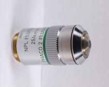 Leitz FLUORESZENZ NPL FLUOTAR 25x OIL PHACO 2 160 TL Microscope Objective