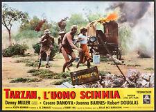 CINEMA-fotobusta TARZAN L'UOMO SCIMMIA d. miller,danova
