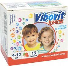VIBOVIT Junior x 15 sachets - Strawberry stimulate the immune system