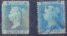 Great Britain Sc# 29 x2 Used Plate 9