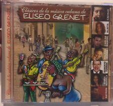 Clasicos De La Musica Cubana De Eliseo Grenet Music CD. Rare