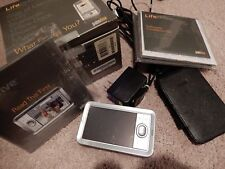 PALM ONE LIFEDRIVE MOBILE MANAGER WITH LEATHER CASE CHARGING CABLE LINK BOX