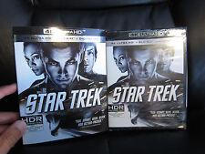 Star Trek 4K UHD/Blu-Ray/Digital HD 3-Disc New Sealed Sci-Fi JJ Abrams