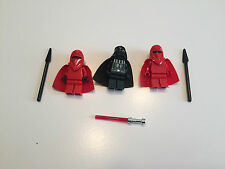 LEGO lot  Darth Vadar 2 Royal Imperial Guards Star Wars Minifigure minifig T273