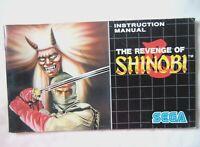 61126 Instruction Booklet - The Revenge Of Shinobi - Sega Mega Drive (1989)