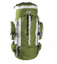 XXL Trekking Zaino 75l regenschute Backpack Zaino Sport Festival oudtoor VERDE