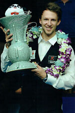 Judd TRUMP SIGNED World Snooker CHINA Winner Autograph 12x8 Photo AFTAL COA
