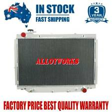 4ROWS Radiator for Toyota 1990-1998 Landcruiser 80 Series HZJ80 HDJ80 FZJ80 MT