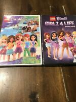 LEGO Friends: Friends Together Again And Girlz 4 Life DVD ~ NEW