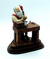 The Danbury Mint Norman Rockwell Santa Claus Santa's Workshop 1994 Statue