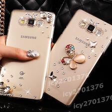 Shine Bling Transparent Clear Crystal Gem Diamonds Hard Back Case Cover Skin #12