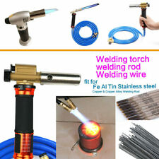 Gas Torch Welding Fire Maker Lighter Butane Burner Flame Gun Tool Portable Lot