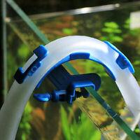 Aquarium Filtration Water Pipe Hose Holder For Mount Tube Tank Blue Super Super